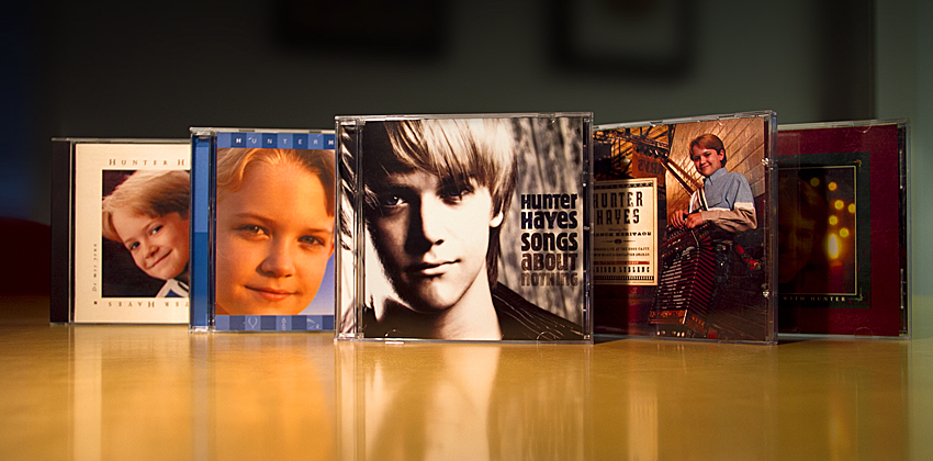 Hunter Hayes CD collection