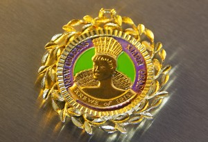 Krewe of Iris Medallion
