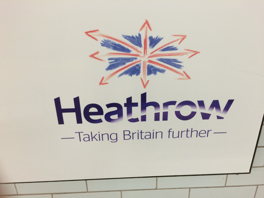 Heathrow Airport Logo - London