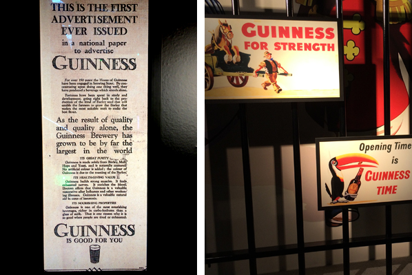 Guinness Beer Advertising - Dublin