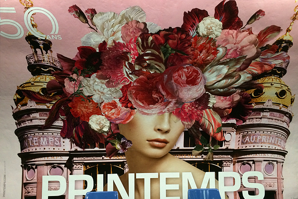 Printemps Subway Billboard - Paris