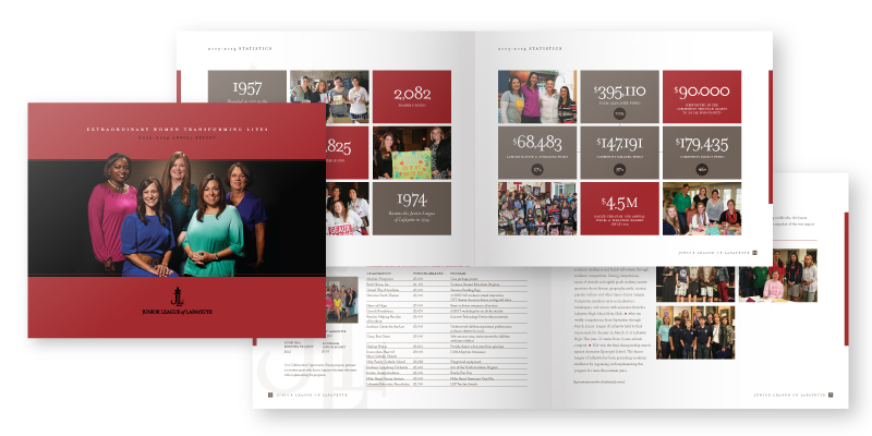 Junior League of Lafayette Annual Report 2013-2014