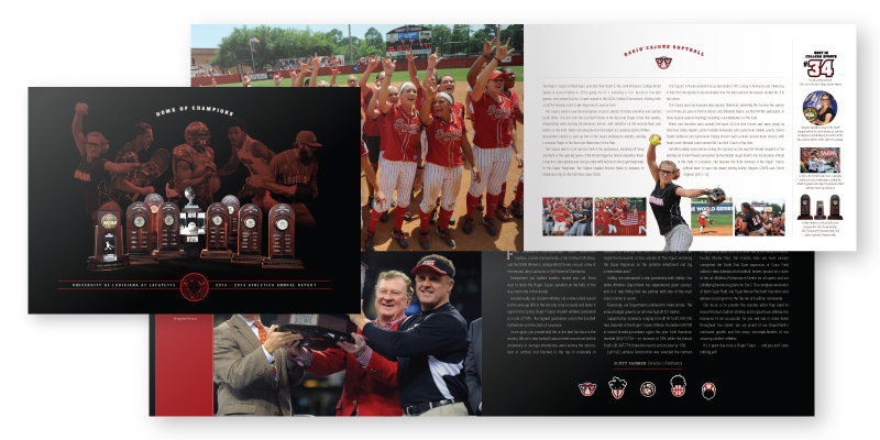 Ragin' Cajuns Athletics Annual Report 2013-2014