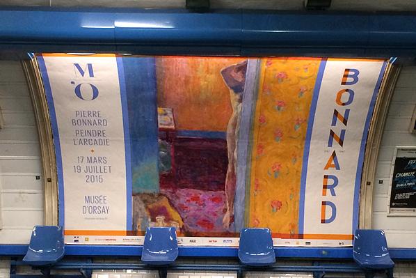 D'Orsay Museum Subway Transit Billboard