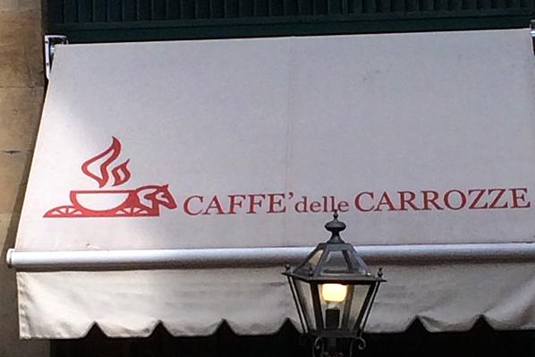 Caffe delle Carrozze - Florence