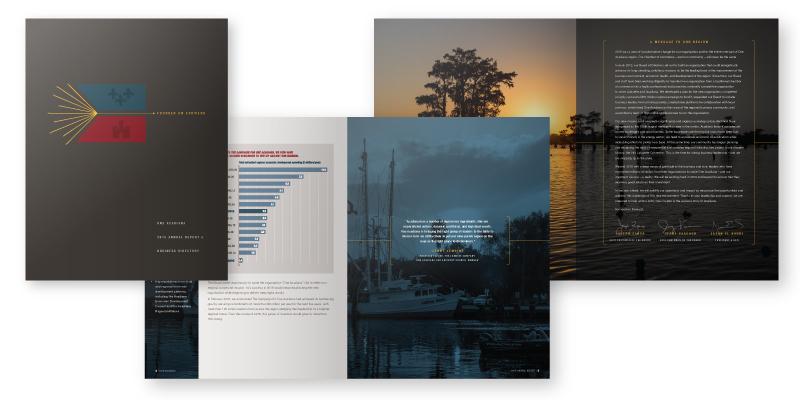 One Acadiana Annual Report & Membership Directory 2015