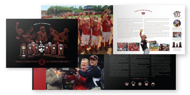 Ragin' Cajuns Athletics Annual Report 2013-2014